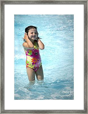 Pictures Of The Summer Framed Print by Gwyn Newcombe