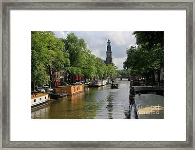 Picturesque Amsterdam Framed Print by Sophie Vigneault