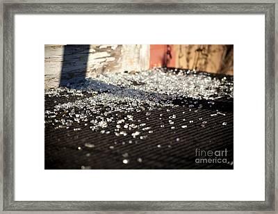 Pieces Framed Print by Maglioli Studios