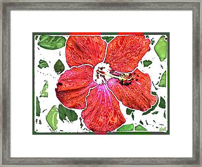 Pieces Framed Print by Marilyn Atwell