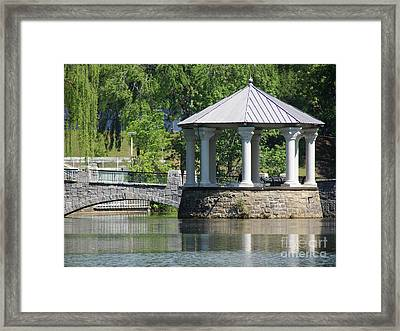 Piedmont Park Framed Print by Mark Holbrook