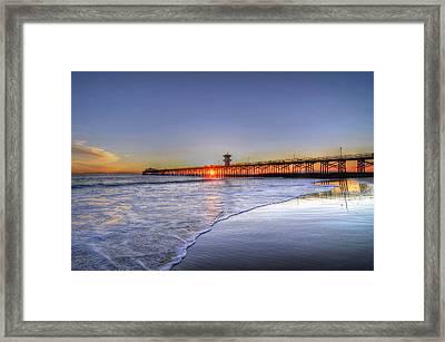 Pier Vista Framed Print