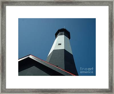 Pierce The Sky Framed Print