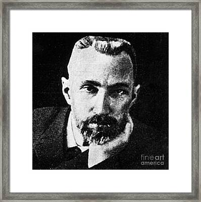 Pierre Curie, French Physicist Framed Print