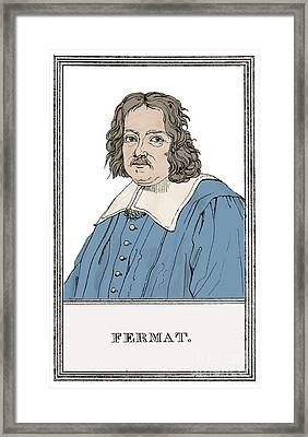 Pierre De Fermat, French Mathematician Framed Print