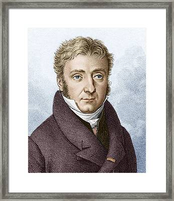 Pierre Dulong, French Chemist Framed Print by Sheila Terry