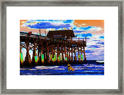Pierscape Framed Print by David Lee Thompson