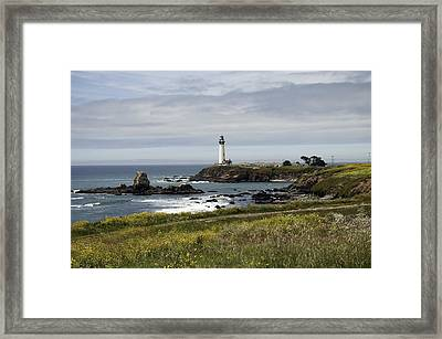 Pigeon Point Light Station Framed Print by Paul Plaine