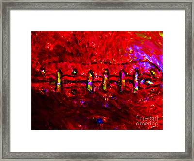Pigskin Framed Print by Wingsdomain Art and Photography