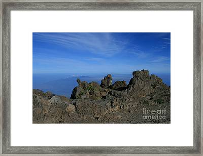 Pihanakalani Haleakala - House Of The Sun - Summit Sunrise Maui Framed Print