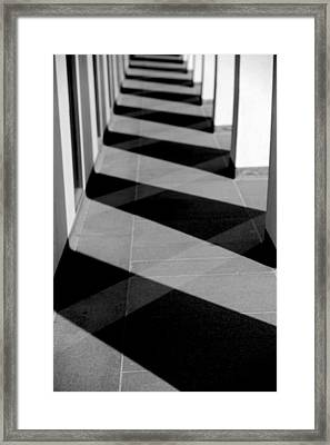 Pilars  Framed Print by Frank DiGiovanni