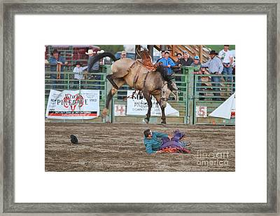 Piledriver Framed Print by Edward R Wisell