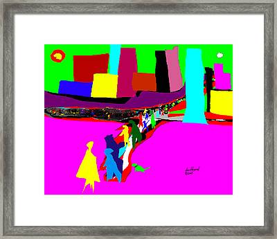 Pilgrimage 2 Framed Print