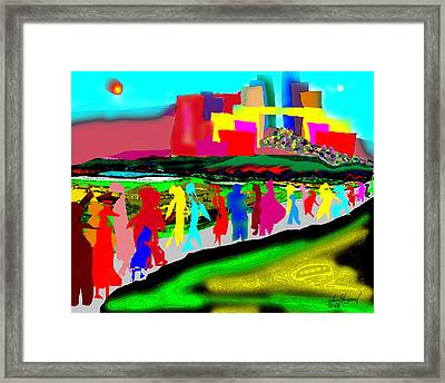 Pilgrimage Framed Print