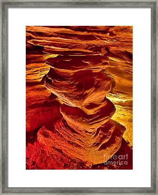 Pillar Of Hercules Framed Print
