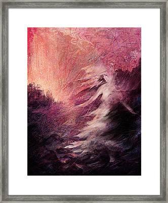 Pillar Of Salt Framed Print
