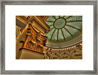 Pillar Of Trust Framed Print