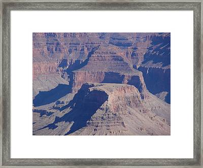 Pillars In Time Framed Print by
