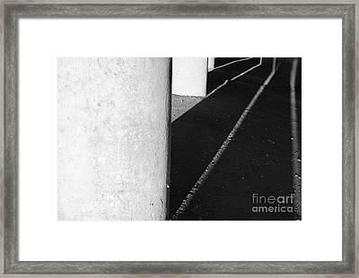 Pillars Of Society Framed Print by Luke Moore