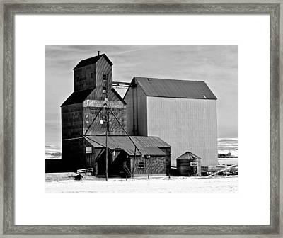 Pillsbury Mills Grain Elevator Framed Print