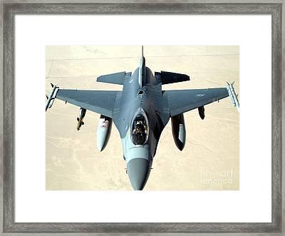 Pilot Gives A Thumbs Framed Print
