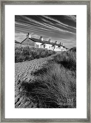 Pilots Cottages Framed Print