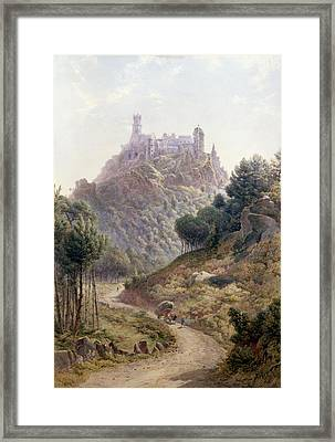 Pina Cintra Summer Home Of The King Of Portugal Framed Print