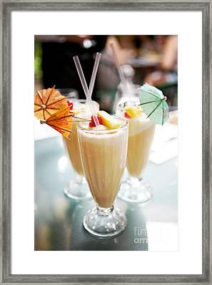 Pina Colada Framed Print