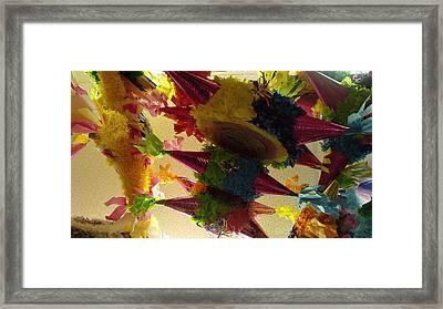 Pinatas II Framed Print