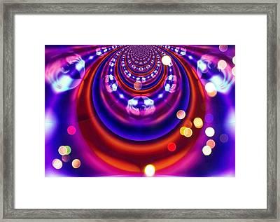 Pinball Framed Print by Jan Steadman-Jackson