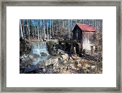 Pine Run Mill Framed Print by Rick Mann