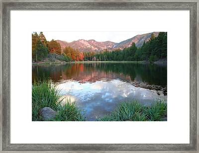 Pine Valley's Tranquility Framed Print