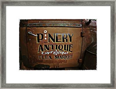 Pinery Framed Print