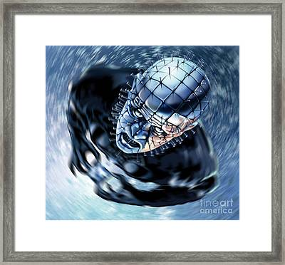 Pinhead Hellraiser Framed Print by Brian Gibbs