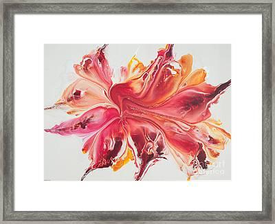 Pink Ardor Framed Print