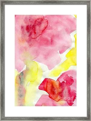 Pink Blooms  Framed Print