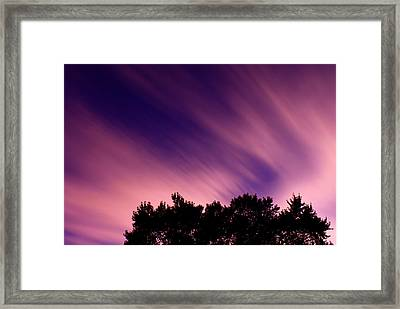 Pink Clouds Framed Print by Cale Best