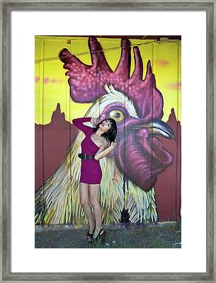 Pink Grafiti 1 Framed Print