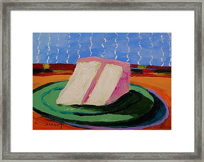 Pink Icing Two Framed Print by John Williams