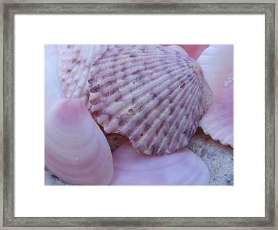 Pink Imperfection Framed Print
