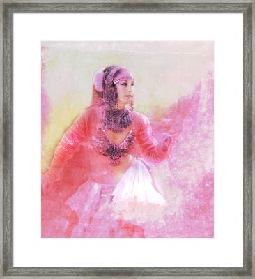Pink Framed Print by Jeff Burgess