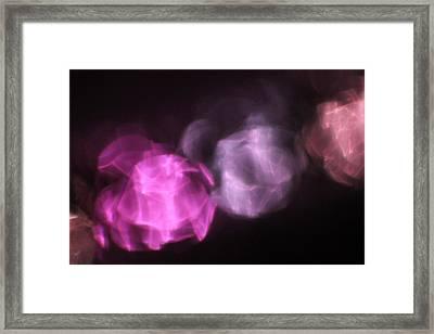 Framed Print featuring the photograph Pink Reflection by Carolina Liechtenstein