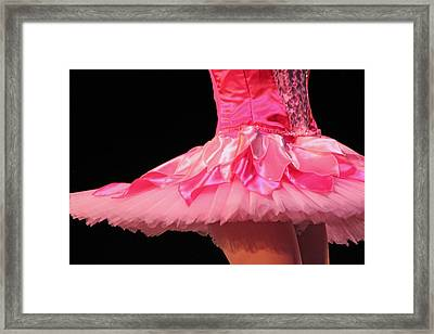 Pink Tutu Two Framed Print by Lauri Novak