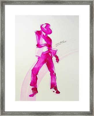 Pinkpanther Framed Print by Hitomi Osanai