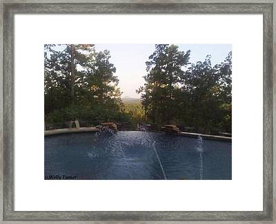 Pinnacle Mountain Framed Print