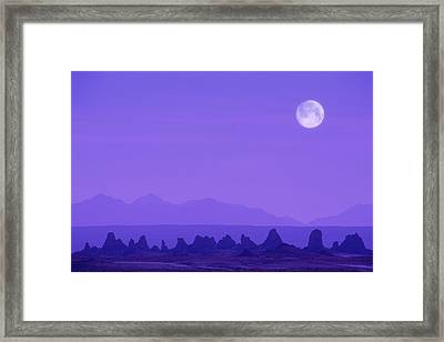 Pinnacles In Nevada, Usa Framed Print by Grant Faint