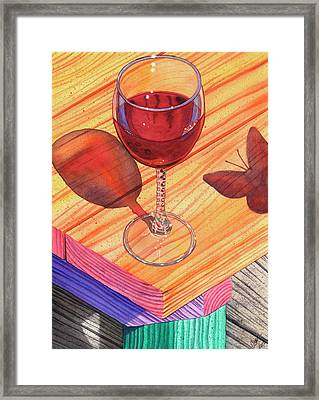 Pinot Noir Framed Print by Catherine G McElroy
