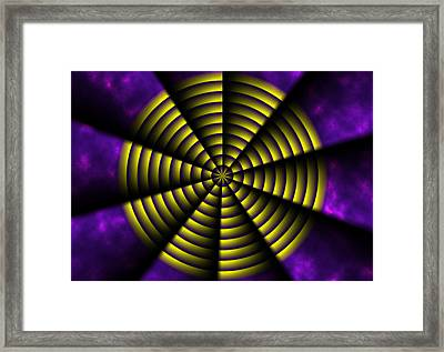 Pinwheel Framed Print by Christopher Gaston