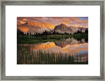Pioneer Basin Framed Print by Buck Forester