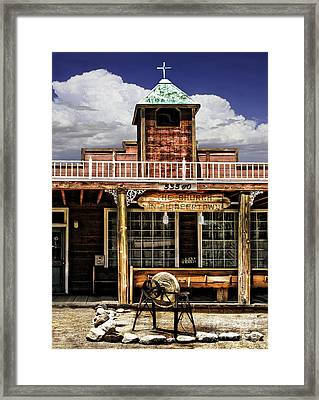 Pioneer Church Framed Print by Danuta Bennett